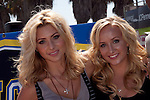 ALY MICHALKA, NASTIA LIUKIN.attend the 4th Annual Supergirl Jam, featuring top female skateboarding, snowboarding and inline skating professionals. Venice Beach, CA, USA. August 22, 2010. ©Tim Copeland/CelphImage