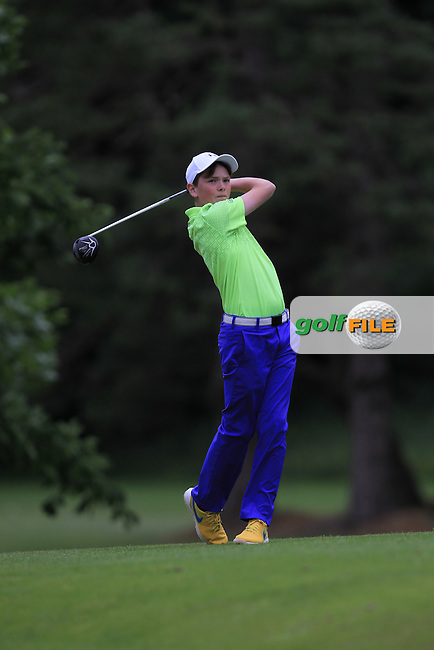 Ben Hynes (Greystones) on the 16th tee during Round 1 of the 2016 Leinster Boys Amateur Open Championship at Mullingar Golf Club on Tuesday 21st June 2016.<br /> Picture:  Golffile | Thos Caffrey