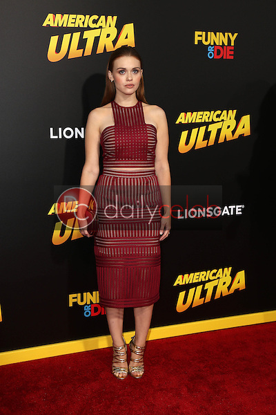"""Holland Roden<br /> at the """"American Ultra"""" Los Angeles Premiere, Ace Hotel, Los Angeles, CA 08-18-15<br /> David Edwards/Dailyceleb.com 818-249-4998"""