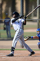 Chicago White Sox outfielder Micker Adolfo (45) during an Instructional League game against the Los Angeles Dodgers on October 8, 2013 at Camelback Ranch Complex in Glendale, Arizona.  (Mike Janes/Four Seam Images)