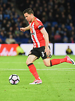 Bryan Oviedo of Sunderland during the Premier League match between Leicester City v Sunderland played at King Power Stadium, Leicester on 4th April 2017.<br /> <br /> <br /> available via IPS Photo Agency only