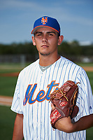 GCL Mets pitcher Noah Nunez poses for a photo before during a game against the GCL Cardinals on July 23, 2017 at Roger Dean Stadium Complex in Jupiter, Florida.  GCL Cardinals defeated the GCL Mets 5-3.  (Mike Janes/Four Seam Images)