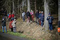 waiting up the Col du Rosier<br /> <br /> 102nd Li&egrave;ge-Bastogne-Li&egrave;ge 2016