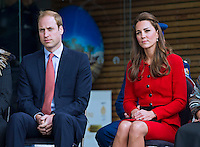 Kate, Duchess of Cambridge & Prince William visit Christchurch - New Zealand