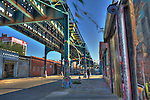 Long Island City Street Scene/HDR