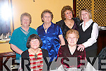 NIGHT OFF: Celebrating at the Clounmacon Annual Social in The Listowel Arms Hotel on Saturday night were front l-r: Mary Keogh and Mary Hodges. Back l-r: Betty Heaphy, Maura Lynch, Rita Hannon and Joan Keating..   Copyright Kerry's Eye 2008