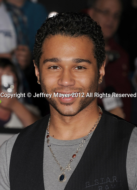 LOS ANGELES, CA - FEBRUARY 22: Corbin Bleu attends the 'John Carter' Los Angeles premiere held at the Regal Cinemas L.A. Live on February 22, 2012 in Los Angeles, California.
