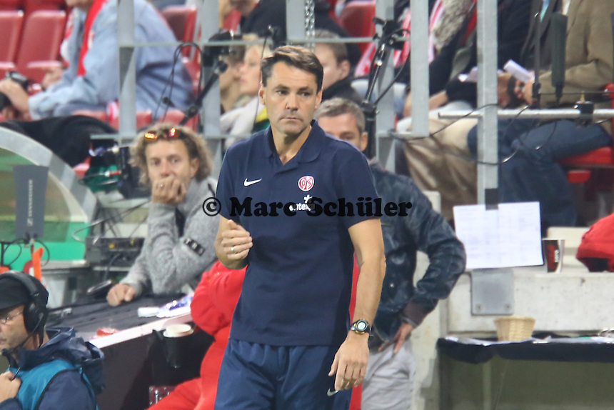 Co-Trainer Arno Michels (Mainz) - 1. FSV Mainz 05 vs. 1. FC Köln, Coface Arena, 2. Runde DFB-Pokal