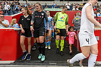 Bridgeview, IL - Sunday August 20, 2017: Alyssa Naeher, Nicole Barnhart during a regular season National Women's Soccer League (NWSL) match between the Chicago Red Stars and FC Kansas City at Toyota Park. KC Kansas City won 3-1.