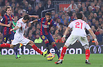 22.11.2014 Barcelona. La Liga day 12. Picture show Neymar Jr.i in action during game between FC Barcelona v Sevilla at Camp Nou