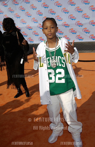 Singer LIL' ROMEO at Nickelodeon's 15th Annual Kids Choice Awards in Santa Monica. .20APR2002..© Paul Smith / Featureflash