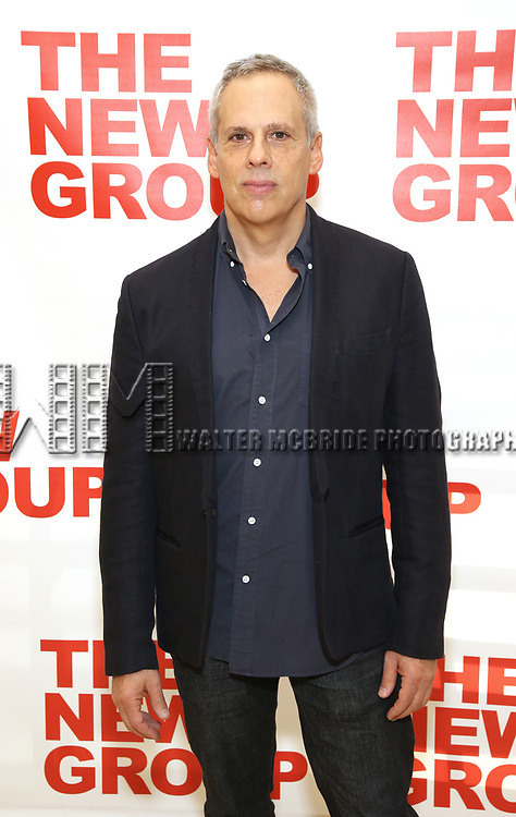 Josh Pais attends the cast photo call for the New Group Production on 'Downtown Race Riot' on October 23, 2017 at The New 42nd Street Studios in New York City.