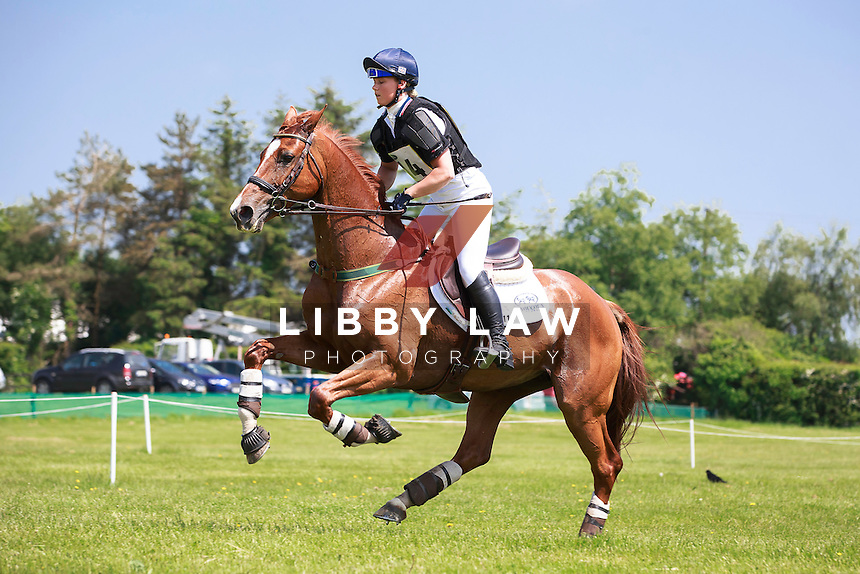 GBR-Dani Evans (MARSTONPARK LUPINA) INTERIM-1ST: LAND ROVER CCI1* CROSS COUNTRY: 2016 IRL-Tattersalls International Horse Trial (Friday 3 June) CREDIT: Libby Law COPYRIGHT: LIBBY LAW PHOTOGRAPHY