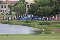Shane Lowry (IRL) on the 18th during the 1st round of the DP World Tour Championship, Jumeirah Golf Estates, Dubai, United Arab Emirates. 21/11/2019<br /> Picture: Golffile | Fran Caffrey<br /> <br /> <br /> All photo usage must carry mandatory copyright credit (© Golffile | Fran Caffrey)