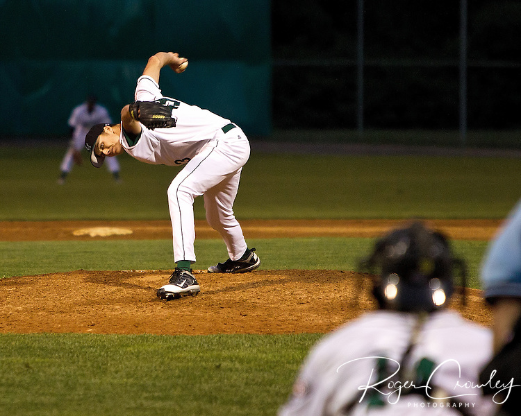 Alex Haines (Greensboro, Pa./Seton Hill) pitched six scoreless innings allowing just four baserunners as Vermont defeated the Danbury Westerners 5-0 at Montpelier Recreation Field on Wednesday night in New England Collegiate Baseball League (NECBL) action.
