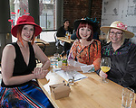 TeresaM oiola, Sharon Ruff and Corey Jones during the Kentucky Derby Party at The Depot on Saturday, May 6, 2017 in Reno, Nevada.