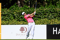 Richard T Lee (CAN) on the 5th tee green during Round 3 of the Maybank Malaysian Open at the Kuala Lumpur Golf & Country Club on Saturday 7th February 2015.<br /> Picture:  Thos Caffrey / www.golffile.ie