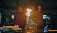 Hereditary (2018) <br /> Gabriel Byrne, Toni Collette &amp; Alex Wolff<br /> *Filmstill - Editorial Use Only*<br /> CAP/MFS<br /> Image supplied by Capital Pictures