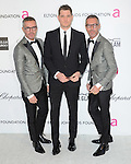 D Squared and Michael Buble at the 21st Annual Elton John AIDS Foundation Academy Awards Viewing Party held at The City of West Hollywood Park in West Hollywood, California on February 24,2013                                                                               © 2013 Hollywood Press Agency