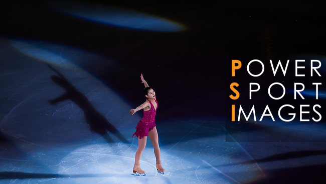 TAIPEI, TAIWAN - JANUARY 25:  Kanako Murakami of Japan performs at the Gala Exhibition event during the Four Continents Figure Skating Championships on January 25, 2014 in Taipei, Taiwan.  Photo by Victor Fraile / Power Sport Images *** Local Caption *** Kanako Murakami