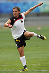 09 August 2008: Sandra Smisek (GER).  The women's Olympic soccer team of Germany defeated the women's Olympic soccer team of Nigeria 1-0 at Shenyang Olympic Sports Center Wulihe Stadium in Shenyang, China in a Group F round-robin match in the Women's Olympic Football competition.
