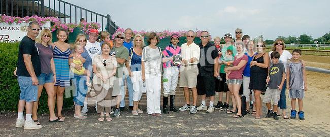Grant Park winning at Delaware Park on 7/12/12