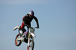 Cyclist competes in Air Show<br />