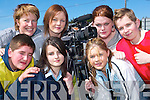 Creative: The students of Listowel Community College who were making a film in Listowel this week - Front l-r Michelle Murphy and Rachel Wilmott. Back l-r Johnny Foley, Lisa Fingleton (tutor), Joanna Ryan, Samantha Leahy and Kevin Murphy..   Copyright Kerry's Eye 2008