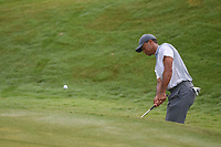 Tiger Woods (USA) chips on to 2 during round 3 of The Players Championship, TPC Sawgrass, at Ponte Vedra, Florida, USA. 5/12/2018.<br /> Picture: Golffile | Ken Murray<br /> <br /> <br /> All photo usage must carry mandatory copyright credit (&copy; Golffile | Ken Murray)