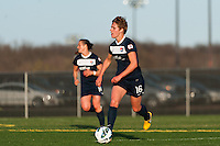 Sky Blue FC midfielder Sophie Schmidt (16). Sky Blue FC defeated the Western New York Flash 1-0 during a National Women's Soccer League (NWSL) match at Yurcak Field in Piscataway, NJ, on April 14, 2013.
