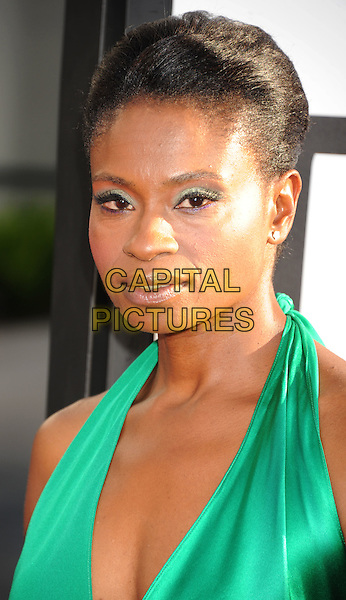 Adina Porter.'True Blood' Season 5 Los Angeles Premiere at ArcLight Cinemas Cinerama Dome, Hollywood, California, USA..May 30th, 2012.headshot portrait green     .CAP/ROT/TM.© TM/Roth/Capital Pictures