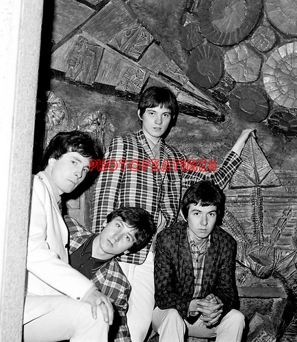 Small Faces 1965 Jimmy Winston, Kenney Jones, Steve Marriott and Ronnie Lane