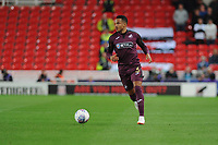 Martin Olsson of Swansea City in action during the Sky Bet Championship match between Stoke City and Swansea City at the Bet 365 Stadium in Stoke on Trent, England, UK. Tuesday 18 September 2018