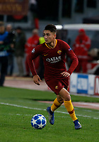 Cenzig Under of AS Roma  during the Champions League Group  soccer match between AS Roma - Real Madrid  at the Stadio Olimpico in Rome Italy 27 November 2018