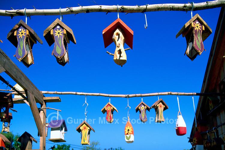 Edgetts Landing, NB, New Brunswick, Canada - Whimsical Folk Art Birdhouses and Bird Feeders for sale at The Bird Garden