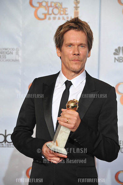 Kevin Bacon at the 67th Golden Globe Awards at the Beverly Hilton Hotel..January 17, 2010  Beverly Hills, CA.Picture: Paul Smith / Featureflash