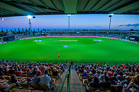 A general view during the 4th Twenty20 International cricket match between NZ Black Caps and England at McLean Park in Napier, New Zealand on Friday, 8 November 2019. Photo: Dave Lintott / lintottphoto.co.nz