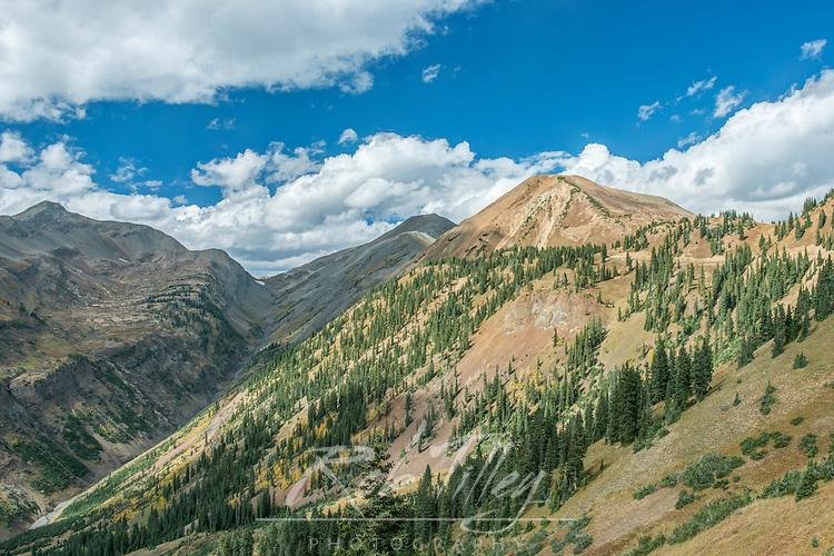US, CO, Gunnison NF, Alpine Peaks