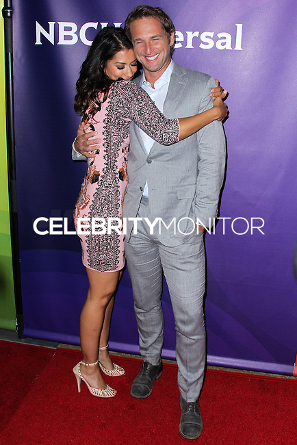BEVERLY HILLS, CA, USA - JULY 13: Janina Gavankar, Josh Lucas at the NBCUniversal Summer TCA Tour 2014 - Day 1 held at the Beverly Hilton Hotel on July 13, 2014 in Beverly Hills, California, United States. (Photo by Xavier Collin/Celebrity Monitor)
