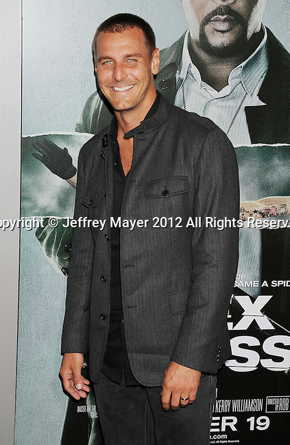 HOLLYWOOD, CA - OCTOBER 15: Ingo Rademacher arrives at the Los Angeles premiere of 'Alex Cross' at the ArcLight Cinemas Cinerama Dome on October 15, 2012 in Hollywood, California.