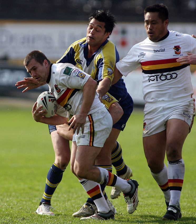 Photo: Paul Thomas..Bradford Bulls v Warrington Wolves. Engage Super League 2007. 29/04/2007...Iestyn Harris of Bradford.