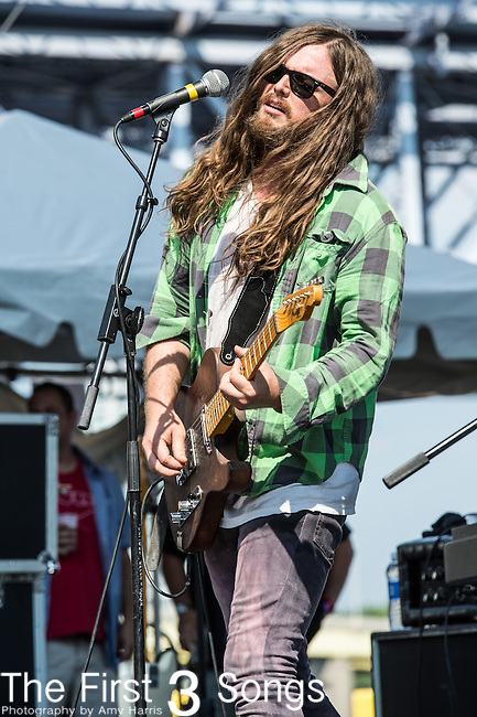 J Roddy Walston of J Roddy Walston and The Business performs at the 2014 Bunbury Music Festival in Cincinnati, Ohio