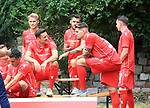 06.07.2019, Stadion an der Wuhlheide, Berlin, GER, 2.FBL, 1.FC UNION BERLIN , Mannschaftsfoto, Portraits, <br /> DFL  regulations prohibit any use of photographs as image sequences and/or quasi-video<br /> im Bild Christian Gentner (1.FC Union Berlin #62), Marcus Ingvartsen (1.FC Union Berlin #57), Sebastian Andersson (1.FC Union Berlin #10), Christopher Trimmel (1.FC Union Berlin #28), Marcel Hartel (1.FC Union Berlin #7)<br /> <br /> <br />      <br /> Foto © nordphoto / Engler