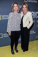 "NEW YORK - APRIL 9: Edie Falco, Actress and Katie Couric, Host and Executive Producer attend National Geographic's ""America Inside Out with Katie Couric"" Premiere Screening at the Titus Theater at MOMA on April 9, 2018 in New York City. ""America Inside Out with Katie Couric"", a new six-part documentary series, follows Couric as she travels the country to talk with the people bearing witness to the most complicated and consequential questions in American culture today. The weekly series premieres Wednesday, April 11, 2018, at 10/9c and will air globally on National Geographic.(Photo by Anthony Behar/National Geographic/PictureGroup)"