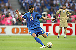 09 July 2006: Marco Materazzi (ITA) (23) prepares to send the ball up the field.  Italy defeated France in a penalty kick shoot-out at the Olympiastadion in Berlin, Germany in match 64, the championship game, of the 2006 FIFA World Cup Finals.