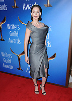 11 February 2018 - Beverly Hills, California - Allison Brie. 2018 Writer's Guild Awards held at The Beverly Hilton Hotel. <br /> CAP/ADM/BT<br /> &copy;BT/ADM/Capital Pictures