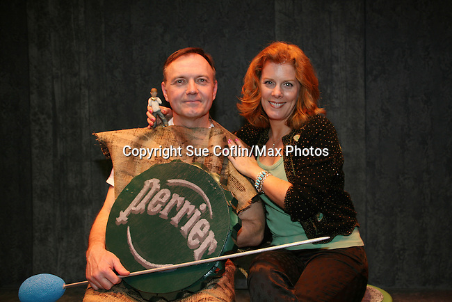 Hugh Scully and Liz Keifer both star in The Return of the Incredible Shrinking Man at the Philipstown Depot Theatre, Philipstown, New York on March 6, 2010. (Photo by Sue Coflin/Max Photos)