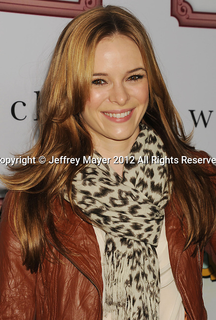 LOS ANGELES, CA - DECEMBER 08: Danielle Panabaker attends Charlie Ebersol's 'Charlieland' Birthday Party And Charity: Water Fundraiser on December 8, 2012 in Los Angeles, California.