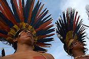 X JOGOS DOS POVOS IND&Iacute;GENAS <br /> Bororo Boi do Mato Grosso.<br /> Os Jogos dos Povos Ind&iacute;genas (JPI) chegam a sua d&eacute;cima edi&ccedil;&atilde;o. Neste ano 2009, que acontecem entre os dias 31 de outubro e 07 de novembro. A data escolhida obedece ao calend&aacute;rio lunar ind&iacute;gena. com participa&ccedil;&atilde;o  cerca de 1300 ind&iacute;genas, de aproximadamente 35 etnias, vindas de todas as regi&otilde;es brasileiras. <br /> Paragominas , Par&aacute;, Brasil.<br /> Foto Paulo Santos<br /> 03/11/2009