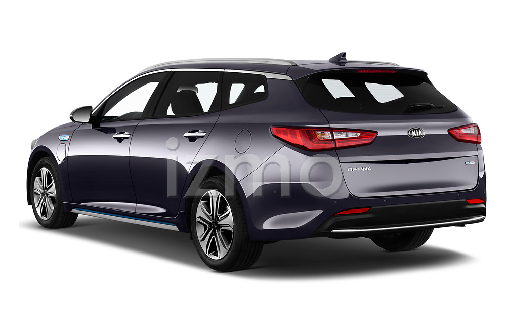 2018 Kia Optima SW PHEV Sense 5 Door Wagon angular rear